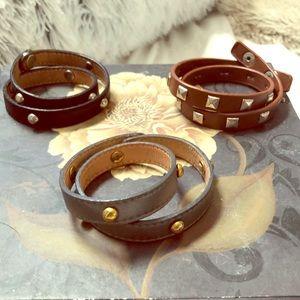 Jewelry - Assorted wrap bracelet bundle